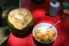 Coconut Drink and Chao