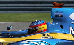 Alonso al detalle...
