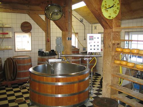 ザーンセ・スカンスのチーズ屋