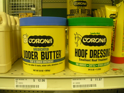 Udder Butter and Hoof Dressing