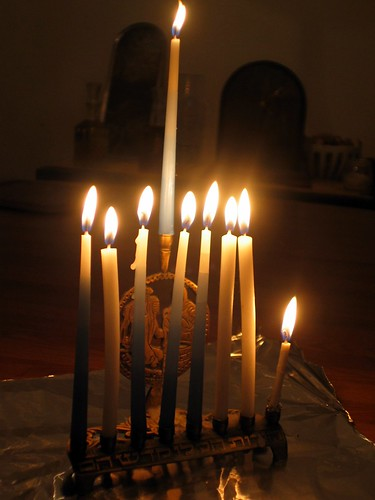 Hanukkah 8th night Jan 2, 2006