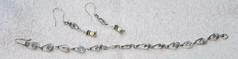 Earrings & bracelet