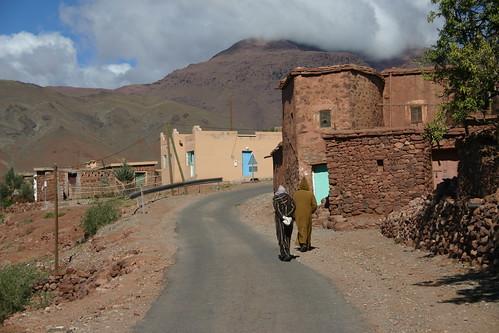 Telouet village in the High Atlas, Morocco