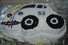 Herbie the Love Bug Cake