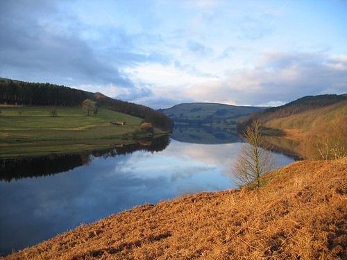 Ladybower reflection