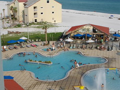 Pool at Hilton Garden Inn, Pensacola Beach FL