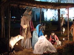 Nativity Scene in India
