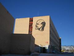 Lenin at Eldenet city