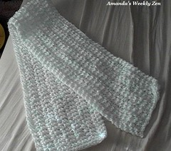 k2 p1 rib scarf