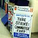 Tube Strike - Evening Standard bill boards
