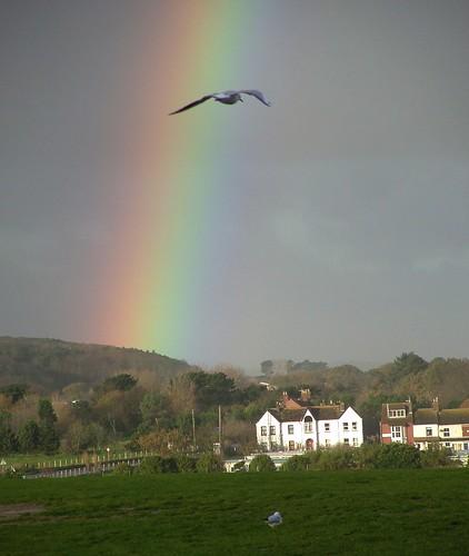 Rural Norfolk | Rainbow
