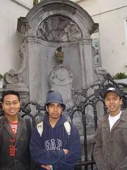 Mannekin Pis Statue, Brussels, Belgium