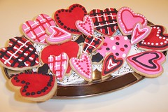 Waaaay Early V-day cookies