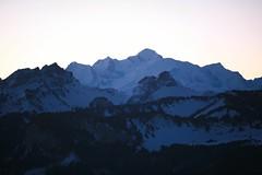 Sunrise on Mont-Blanc