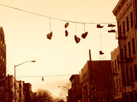 Greenpoint shoes phenomenology