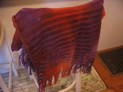 hand dyed wrap