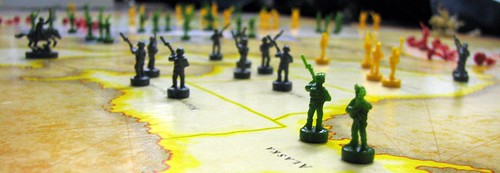 The neverending Risk game in AT