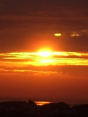 Sunrise over Galway Bay
