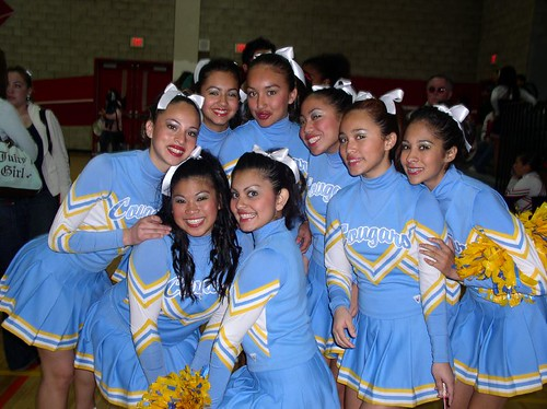 San Ysidro High School JV Cheerleading Squad