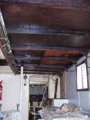 Galley roof