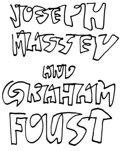 Joseph Massey & Graham Foust Pegasus Books Downtown Berkeley Feb. 17