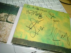 soda green CD with signature 2