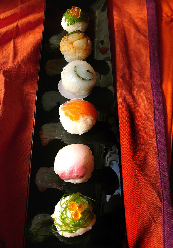 handkerchief sushi