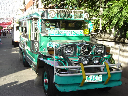 The famous Manila Jeepney