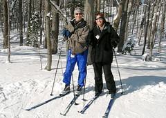 Sheryl + Ben Ski
