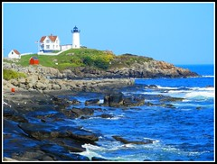 Nubble Light At York Beach, Maine - Photo by STEVEN CHATEAUNEUF - August 27, 2014 photo by snc145