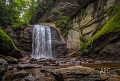 Looking Glass Falls, NC 8/24/14 photo by APGougePhotography