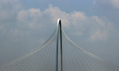 Strung Out Art: Calatrava Bridge photo by GollyGforce - Living My Worst Nightmare