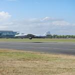 Canberra PR9 landing<br/>19 Jul 2014