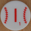 Major League Baseball Scrabble Letter I