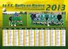 FCB calendrier 2013