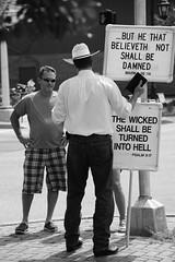 Street Preacher photo by tvdflickr