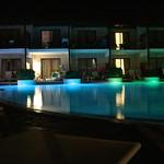Pool lit up<br/>19 Aug 2014