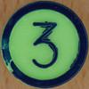 Colour Bingo green number 3