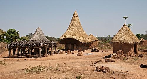 246 - Senoufo Fetish House, Nufouni Village near Korhogo, Cote d'Ivorie 2017