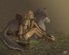 L'elfe et le Loup