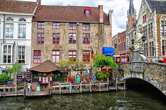 some colors of Bruges, Belgium August 2014 photo by Smo_Q Dx