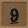 TSL Lotto Bingo Number 9