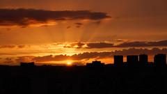 Sunset in Paris photo by A Cris ... Je suis Charlie.