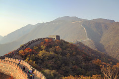 the fall of  the Great Wall (in Explore) photo by wang_xiao