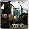 Relaxing outside State Library 52/32/3 #cf14 #relax