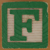 Brick letter F