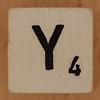 Crossword dice letter Y