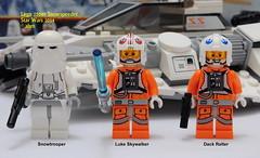 Star Wars Lego 75049 Snowspeeder photo by KatanaZ