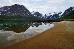 mountains of Grøtfjord photo by John A.Hemmingsen