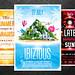 Ibiza - Summer Vacation Flyer Bundle, PSD Template